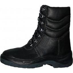 """Ботинки утепленные """"Шторм"""" с высоким берцем, искусственный мех, ПУ"""