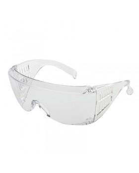 Очки защитные открытые с прозрачной поликарбонатной линзой (аналог