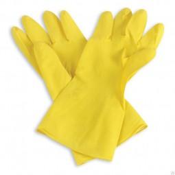 Перчатки общехозяйственные латексные