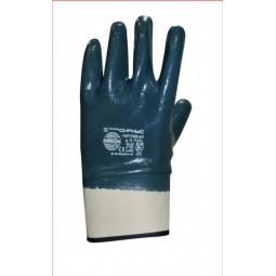 Перчатки с нитриловым покрытием, обливные, крага
