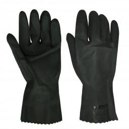 Перчатки химостойкие КЩС тип 1 (латекс, слой Silver, толщ.0,45мм, дл.300мм.)