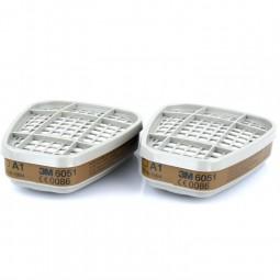 Противогазовый фильтр 6051 (3М) от органических паров A (упаковка 4шт)