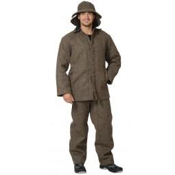 Костюм огнестойкий СУКОННЫЙ: куртка+брюки, цв. серый