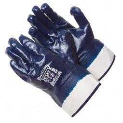 """Перчатки с нитриловым покрытием, """"GWARD Jersey K"""" обливные, крага, упак.12/120пар"""