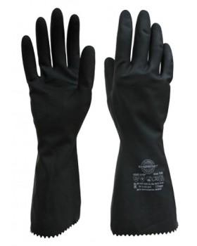 """Перчатки химостойкие КЩС тип 2 """"SafeProtect"""" (латекс, слой Silver, толщ.0,35мм, дл.300мм.)"""