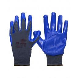 """Перчатки """"НейпНит"""" (нейлон+нитрил синий, 13-й класс вязки)"""