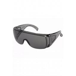 Очки защитные открытые с поликарбонатной линзой, ДЫМЧАТЫЕ (аналог