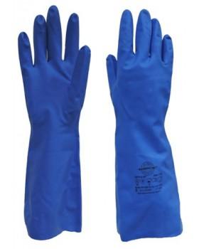 """Перчатки химостойкие """"НИТРО-SP"""" (нитрил, без покрытия, толщ.0,28мм,дл.330мм.)"""