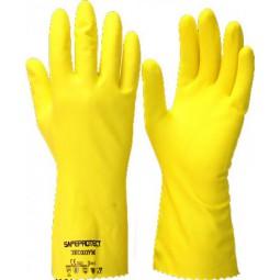 """Перчатки химостойкие """"ЭКОХОУМ"""" (латекс, хлопковый слой, толщ.0,40мм, дл.300мм.)"""