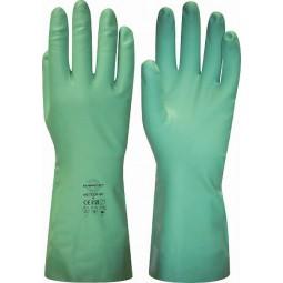 """Перчатки химостойкие """"МЕТЕОР-SP"""" (нитрил, хлопковый слой, толщ.0,45мм, дл.330мм.)"""