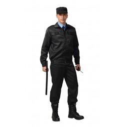 """Костюм """"ВЫМПЕЛ"""": куртка+брюки, цв. черный"""