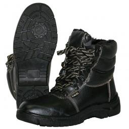 """Ботинки утепленные с завышенным берцем """"FOOTWEAR-УНИВЕР-ЗИМА"""", ПУ, ИСК. МЕХ"""
