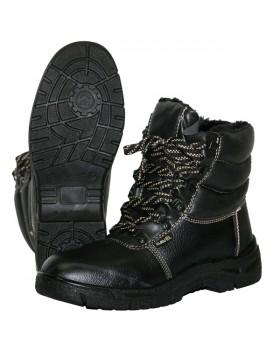 """Ботинки утепленные """"FOOTWEAR-УНИВЕР-ЗИМА"""" завышенные, ПУ, ИСК. МЕХ"""