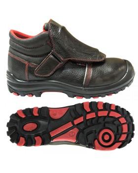 Ботинки кожаные термостойкие