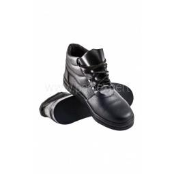 """Ботинки кожаные термостойкие """"Асфальтоукладчик"""", бортопрошивные, нитрил"""
