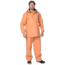 """Костюм влагозащитный """"РЫБАК"""" рыбацкий: куртка, полукомбинезон (тк. 1045) оранжевый"""