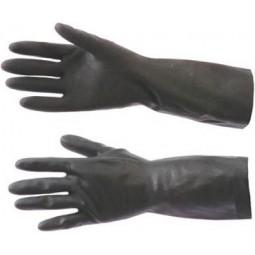 "Перчатки химостойкие КЩС тип 2 ""АзРИ"" (латекс, толщ.0,35мм, дл.300мм.) / 240"