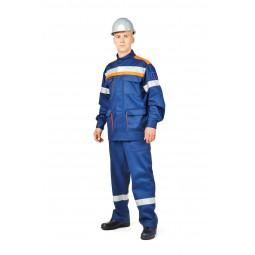 Костюм летний для защиты от электрической дуги СП01-Л/10В, 10 кал/см2