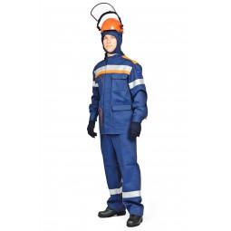 Комплект летний для защиты от электрич. дуги СП03-Л/42В (кур+брю),+ термостойкое белье, 42 кал/см2