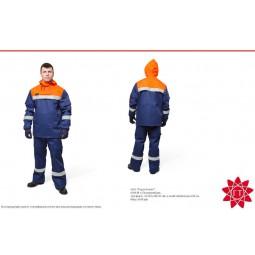 Костюм для защиты от электрической дуги п/энцефалитный (куртка, брюки) 27 кал/см2