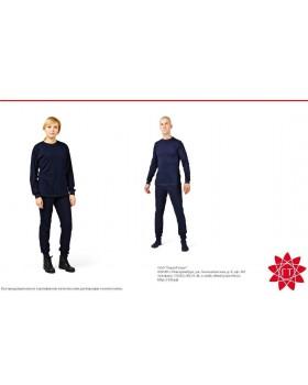 Белье нательное термостойкое (фуфайка, кальсоны/панталоны), трикотаж