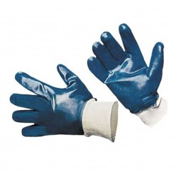 Перчатки с нитриловым покрытием, обливные, манжета