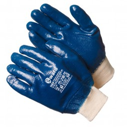 """Перчатки с нитриловым покрытием,""""GWARD NRP"""" обливные, манжета, упак.12/120пар"""