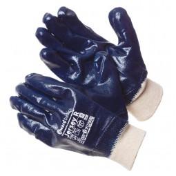 """Перчатки с нитриловым покрытием """"GWARD Jersey R"""" обливные, манжета"""