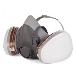Комплект J-SET 5500: полумаска 5500, фильтры А1 (2 шт), предфильтры P2 (4 шт), держатели (2 шт)