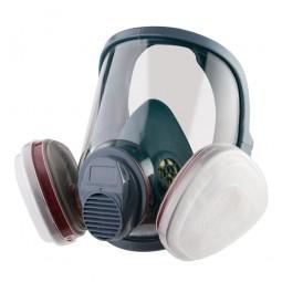 Полнолицевая маска 5950 промышленная, в комплекте пленка 5951 и фильтры A1 (2шт)