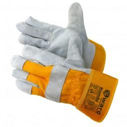 """Перчатки комбинированные спилковые """"GWARD Kombi"""", р-р 10 (XL), упак.12/60"""
