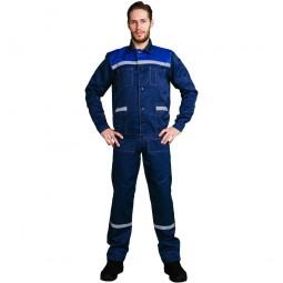 """Костюм """"Легион/Легионер"""": куртка кор+п/к, цв. т.-синий/васильковый и СОП 25мм"""