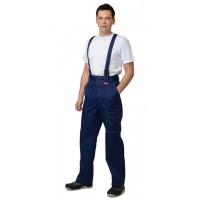 "Костюм ""ПЛУТОН"": куртка+брюки, цв. т.-синий/ светло-серый"