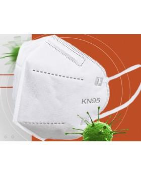 Респиратор фильтрующий KN95, FFP2 (NR D) без клапана выдоха (упак.10шт)