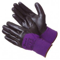 """Перчатки нейлоновые со вспененным нитриловым покрытием """"GWARD Oil Grip Plus"""", 3/4, уп.12/240"""